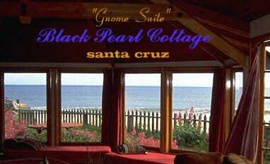 Black Pearl Cottage Santa Cruz Bed And Breakfast Inn Ca